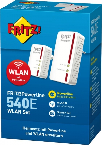 FRITZ! Powerline 540E - Wlan Set