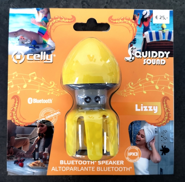 "Bluetooth Speaker - Squiddy Sound - ""Lizzy"""