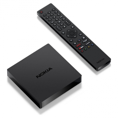 Nokia - Android Streaming Box 8000 - 4K Android TV